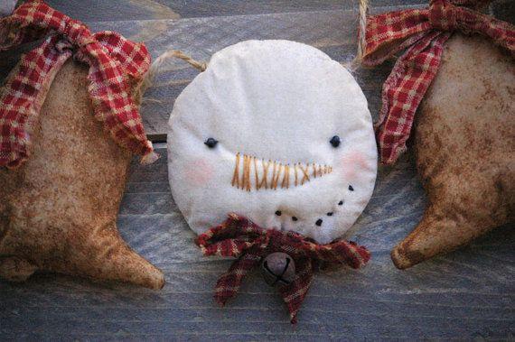Muñecos primitiva primitiva de guirnalda de Navidad guirnalda