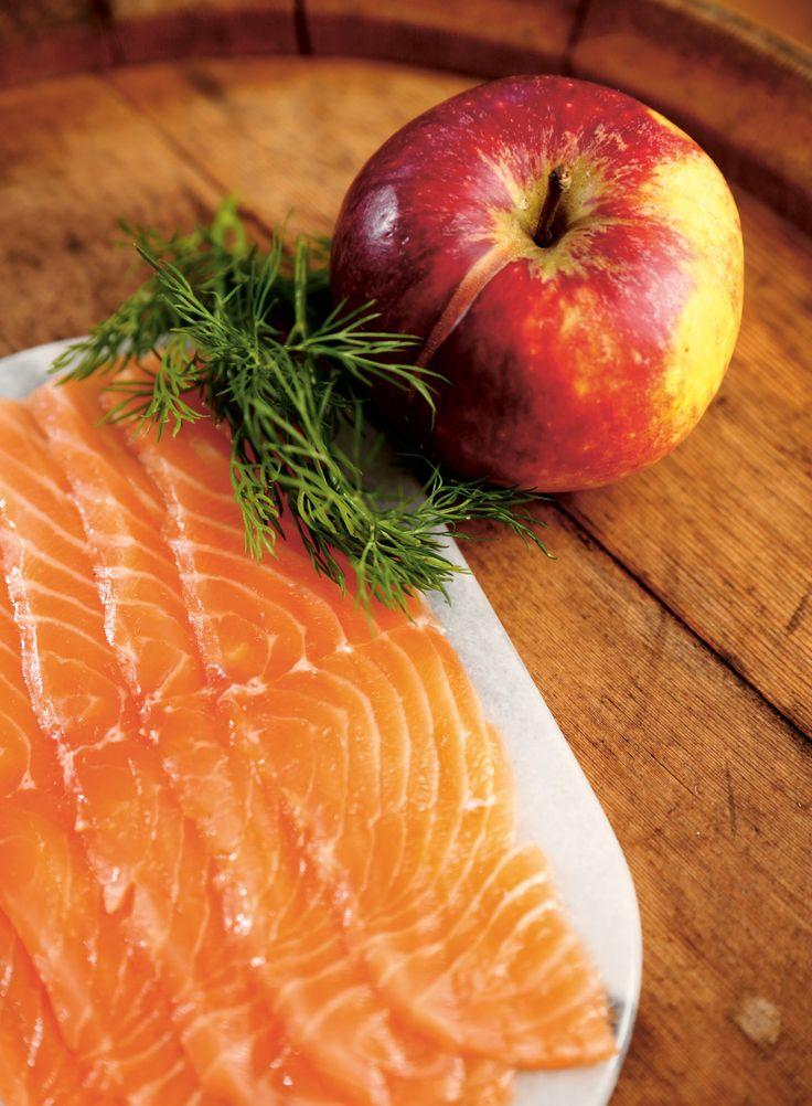 Apple-Cured Salmon - Diet Doctor