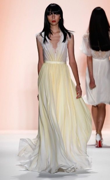 Jenny Packham Spring/Summer 2012 Collection Look No. 3