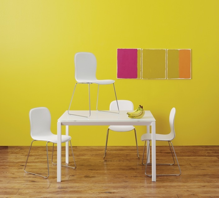 Rio Dining Table With Isaac Chairs Habitat