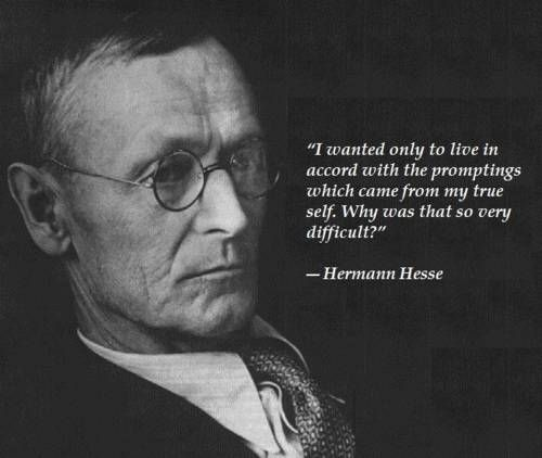 The life and writing career of herman hesse