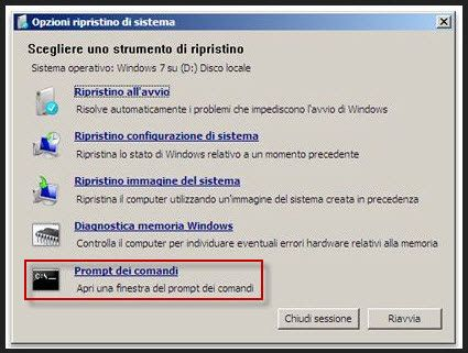 Resettare o Azzerare la password di login su window 7