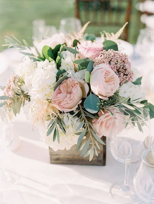 20 Breathtaking Wedding Centerpiece Ideas For Spring 2021 Emmalovesweddings Blush Wedding Centerpieces Greenery Wedding Centerpieces Wedding Centerpieces