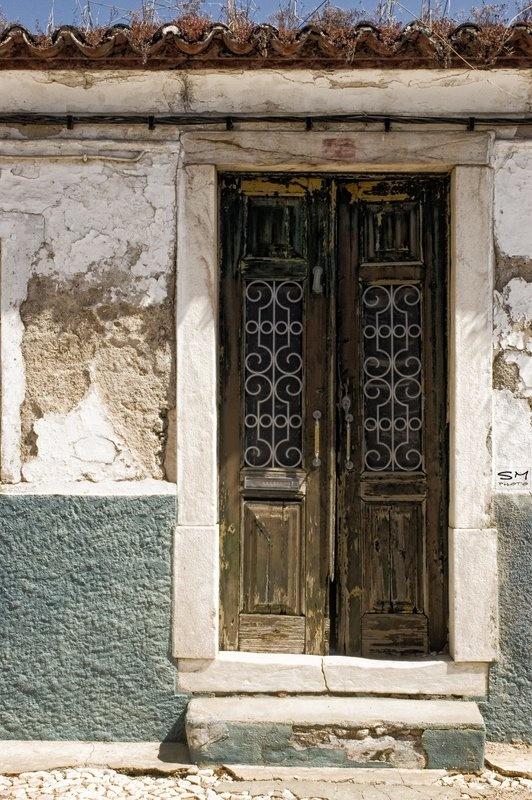 old house in Alentejo, Portugal