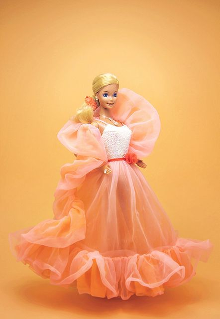 Peaches Barbie, 1985 | Flickr - Photo Sharing! The first Barbie I remember. This and western Barbie.