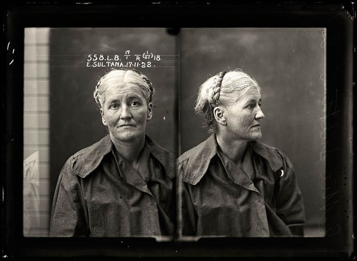 Mugshots from the 1920s - Prostitution