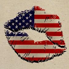American Flag Lips