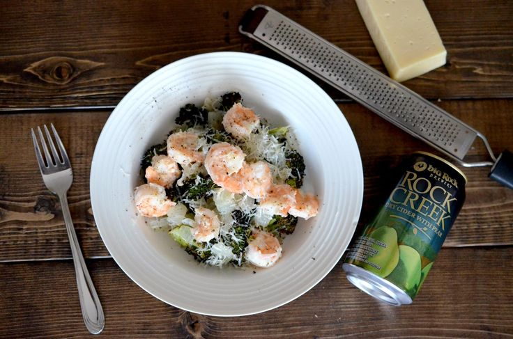 [Shrimp & Broccoli Recipe ] Quick weeknight meal made delicious with simple, quality ingredients and cheese! #weeknight