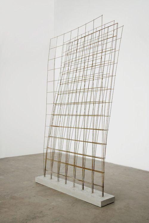 museumuesum: Charles Harlan Remesh, 2012 Concrete, steel, 87 x 47 x 8.5 inches