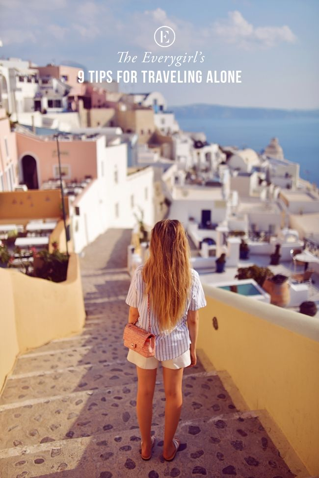 9 Tips for Traveling Alone #theeverygirl #travel
