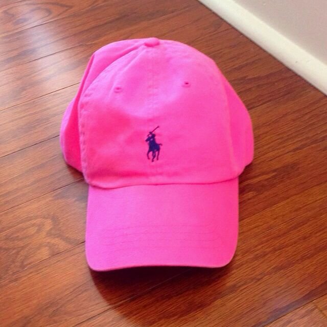 Pink   Navy Polo Hat Gently worn Polo by Ralph Lauren Accessories Hats 38f2b331b95