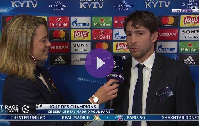 Maxwell a commenté au micro de beIN SPORTS le résultat du tirage très difficile du PSG face au Real Madrid en 8èmes de finale de la Ligue des Champions.