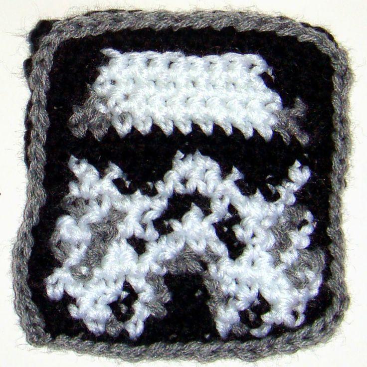 Mejores 163 imágenes de ganchillo molón cool crochet en Pinterest ...