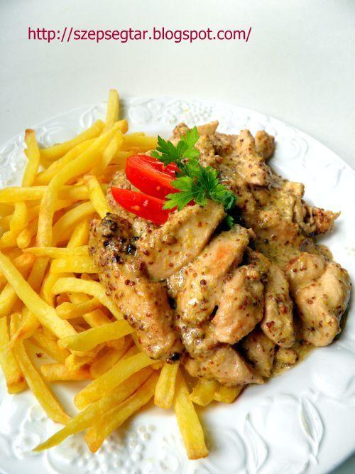 Mustáros csirkemell