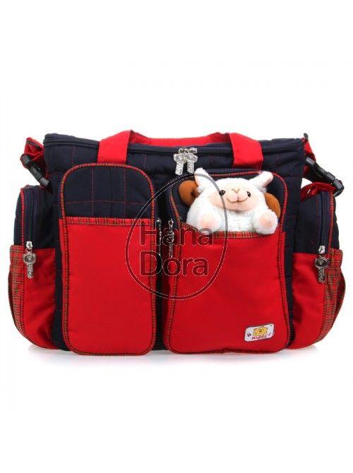 KIDDY TAS KOMBINASI KOTAK + BONEKA - RED http://www.hanadora.com/kiddy-tas-kombinasi-kotak-boneka-red.html