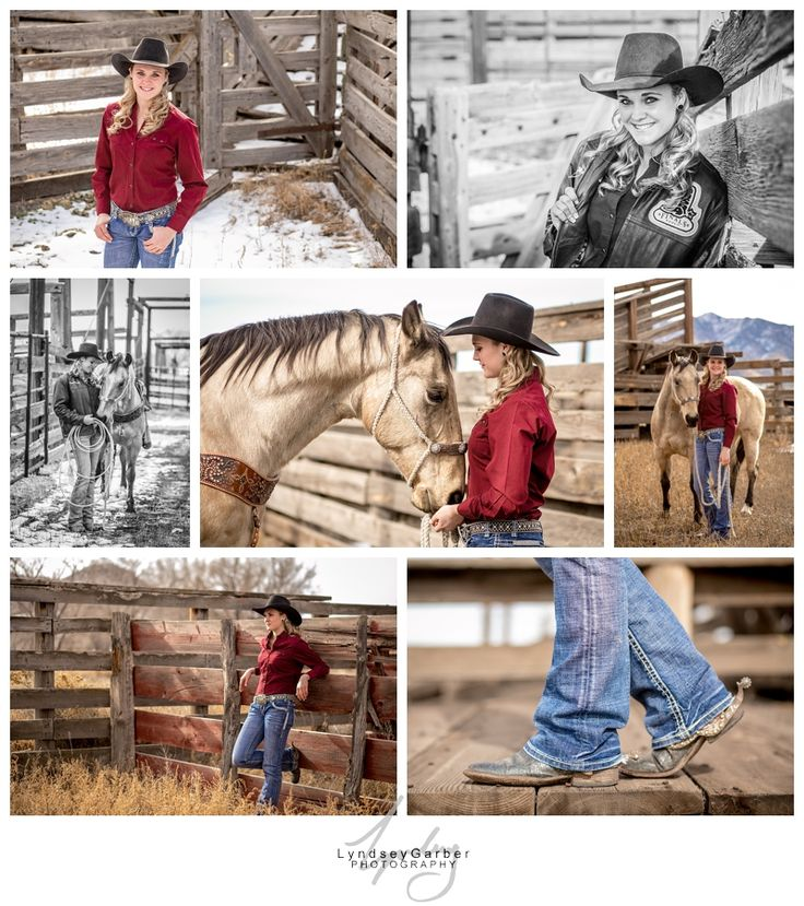 Senior Rodeo Cowgirl Pictures with horse.
