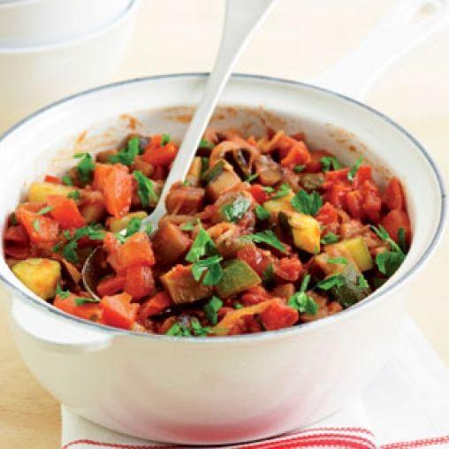 Eggplant ratatouille | Healthy Food Guide