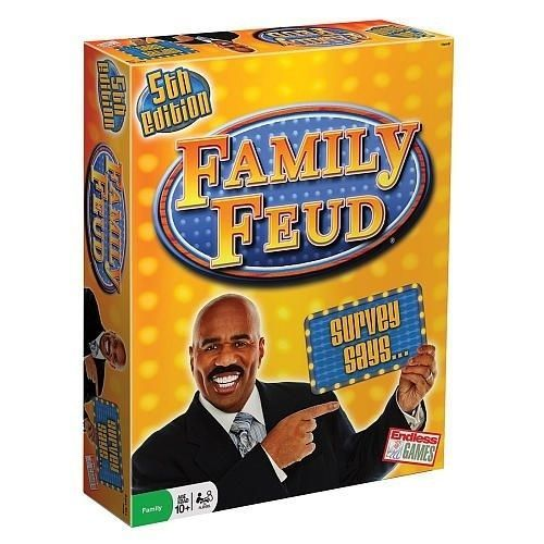 Endless Games Classic Family Feud Game  5th Edition