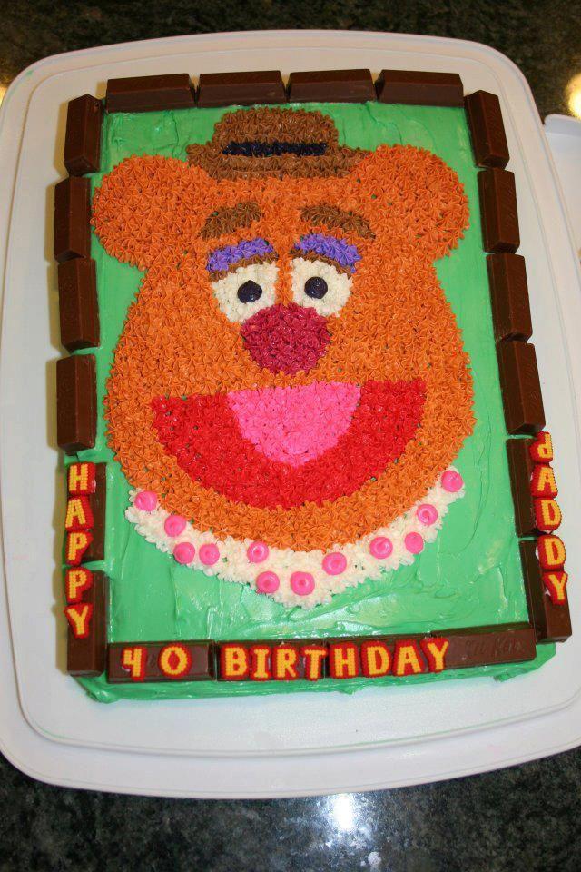 Fozzie Bear Cake