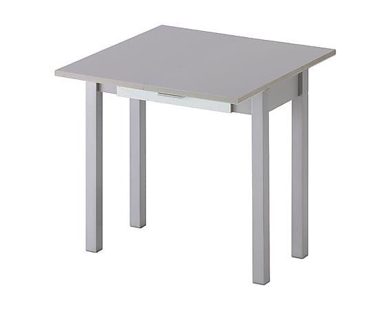Mesa de comedor extensible de cristal dm y metal negro for Mesa comedor cristal 200 cm