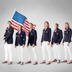 リオ五輪アメリカ代表ユニフォームが発表ポロ ラルフローレンがデザイン                                                                                                                                                                                 もっと見る
