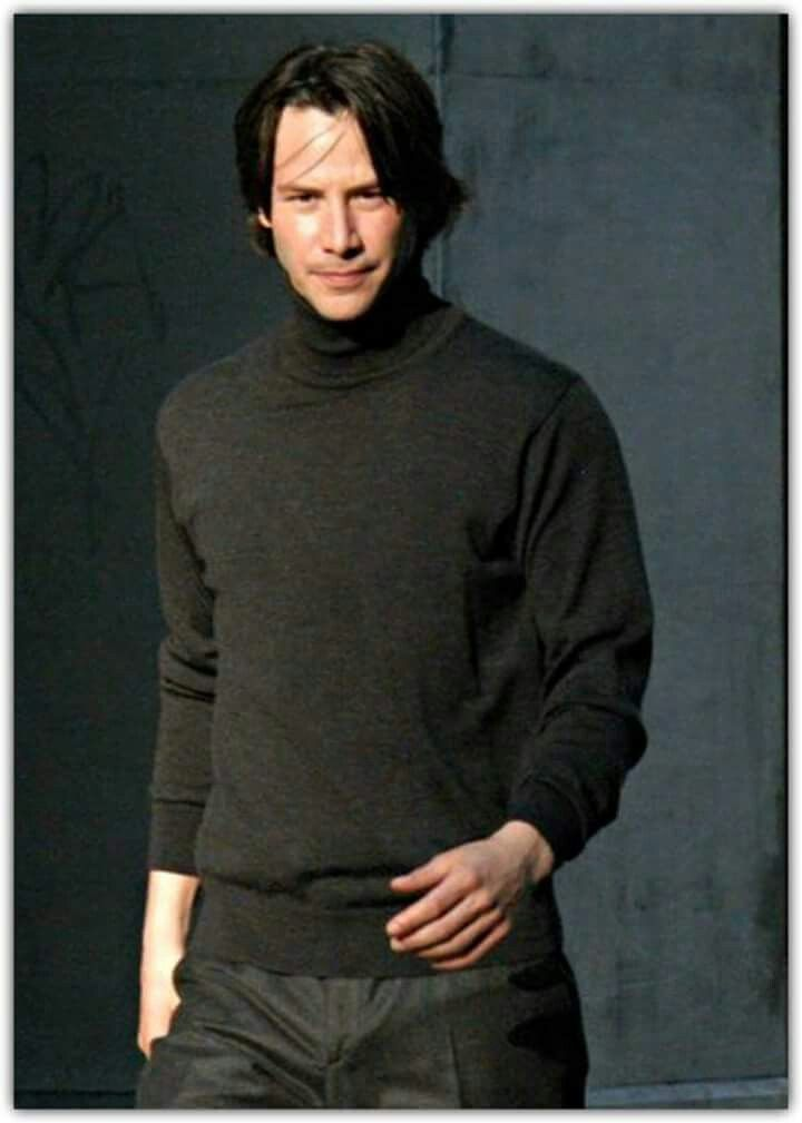 Keanu in a polo neck, gets me every time