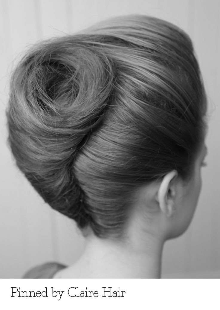 French pleat. Pinned by Claire Hair. Recreate it here... http://myhairdressers.com/hairdressing-training/session/french-roll.html