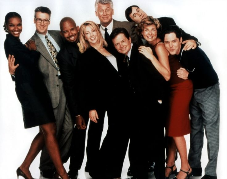 spin city- top comedy