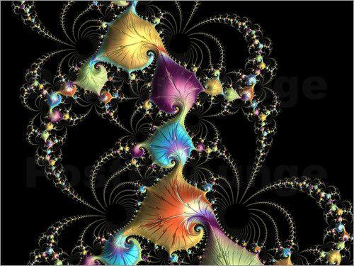 Claudia Burlager Digital-Art - Feuerwerk