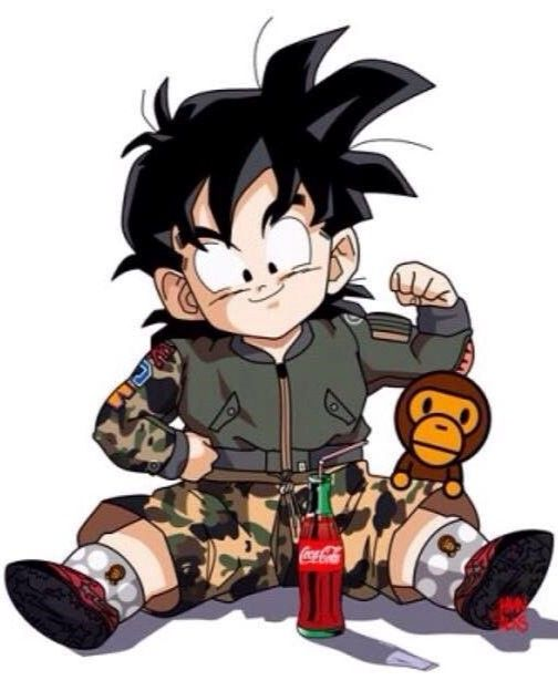 Gohan X Bape  Anime, Dragon Ball, Anime Characters-9785
