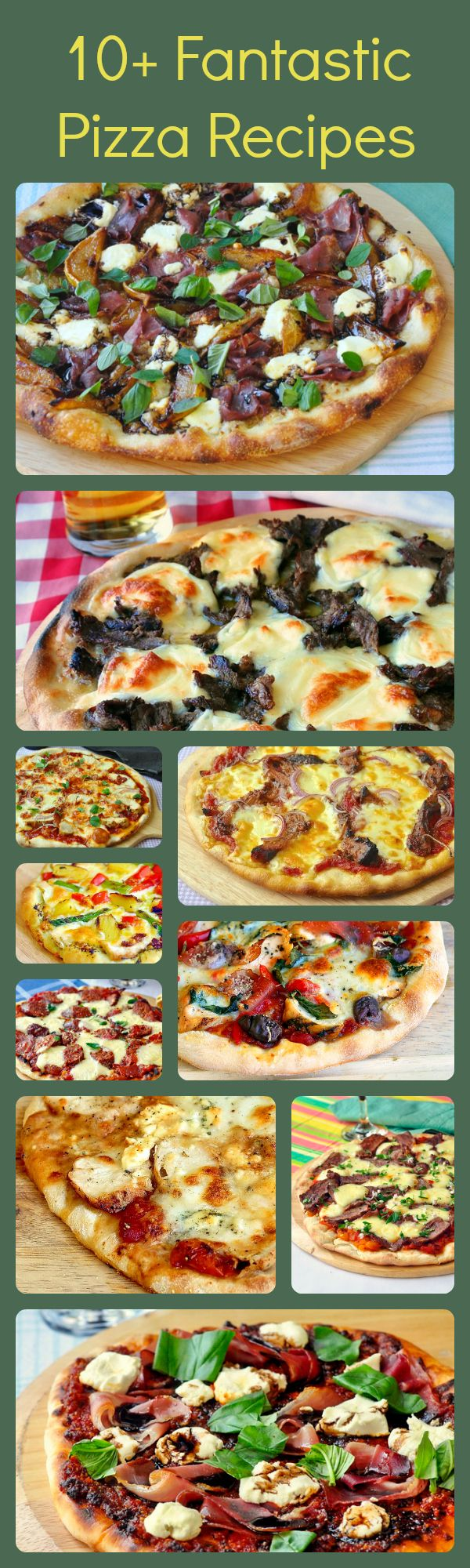 From Buffalo Wing, Philly Cheesesteak and BBQ Chicken to Pear Prosciutto or Pulled pork, we have some uniquely delicious pizza ideas and recipes for the perfect crust too.