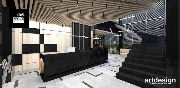 JCG | Wnętrza biurowe | strefa wejściowa