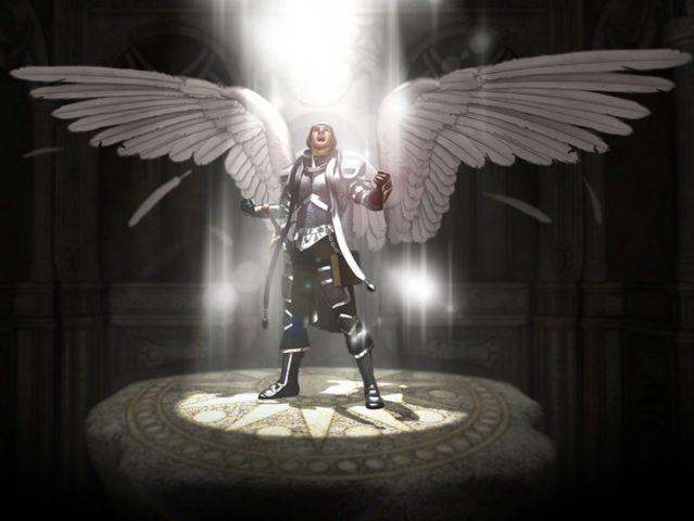 Ich habe:Krieger des Lichts!