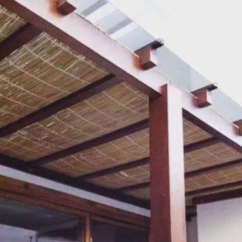 esteira de palha de periperi natural, por metro quadrado /m²