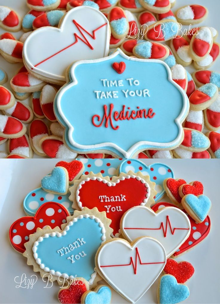 Time to Take Your Medicine - Cookies for Nurses or Patients
