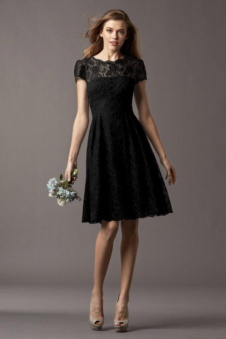 Watters Maids Dress Ash