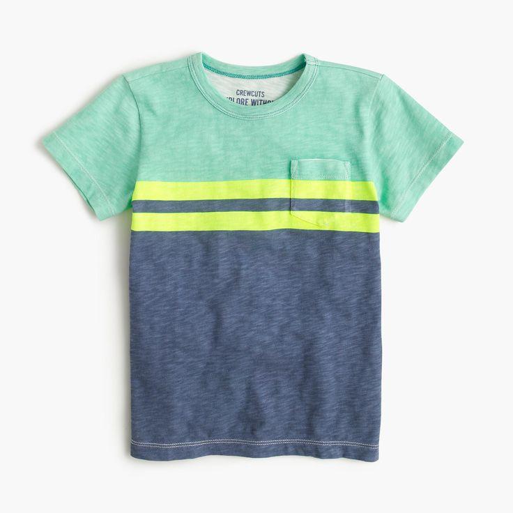 J Crew キスマークポケットTシャツ