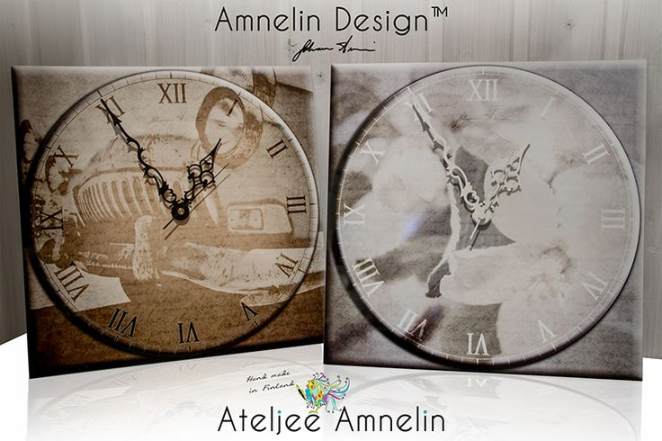 Finnish design! Ateljee Amnelin creates decoration and gift products based on award winning photographer Johanna Amnelin's photos.  Every product is individually handmade in Salo, Finland.  The Design from Finland Mark guarantees the highest quality design clocks and thermometers.  Ateljee Amnelin also designs postcards, posters, bags, mugs and all kinds of aluminium products, all photographed and made in Finland.