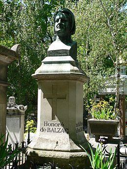 Cimetière du Père-Lachaise - Honoré de Balzac