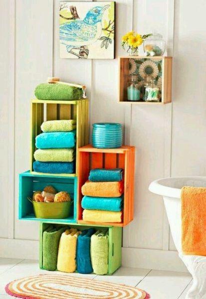 Decoración del baño con colorido total | Decoración 2.0