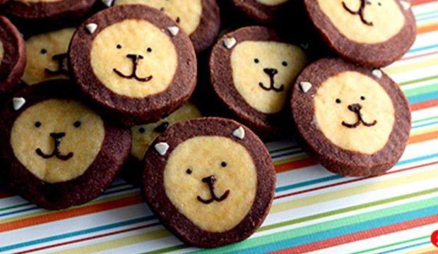 Recept na roztomilé lví sušenky