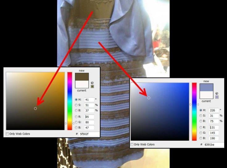 Explicación científica de por qué se ve de diferentes colores.