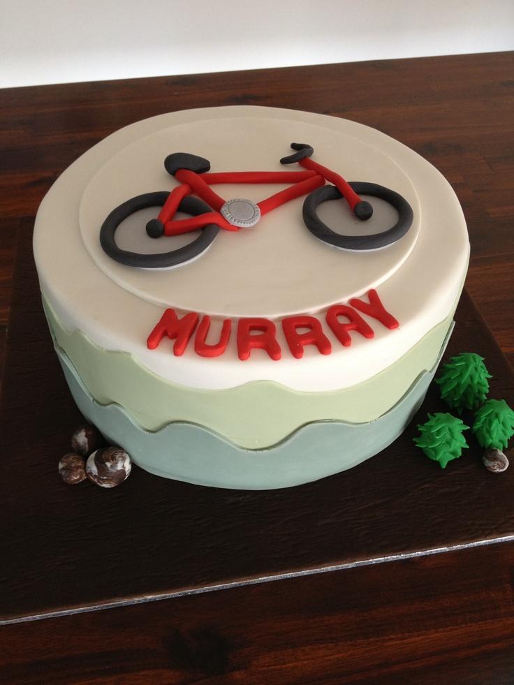 Mountain bike cake #miettecreations