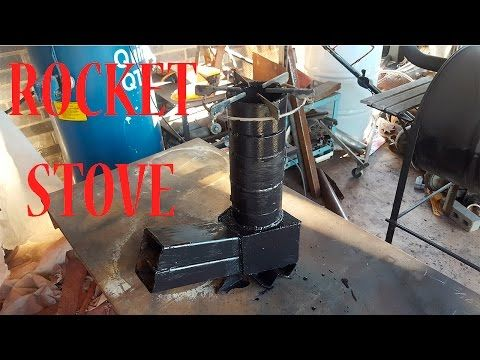 dos maneras de hacer una cocina cohete o roket stove. - YouTube
