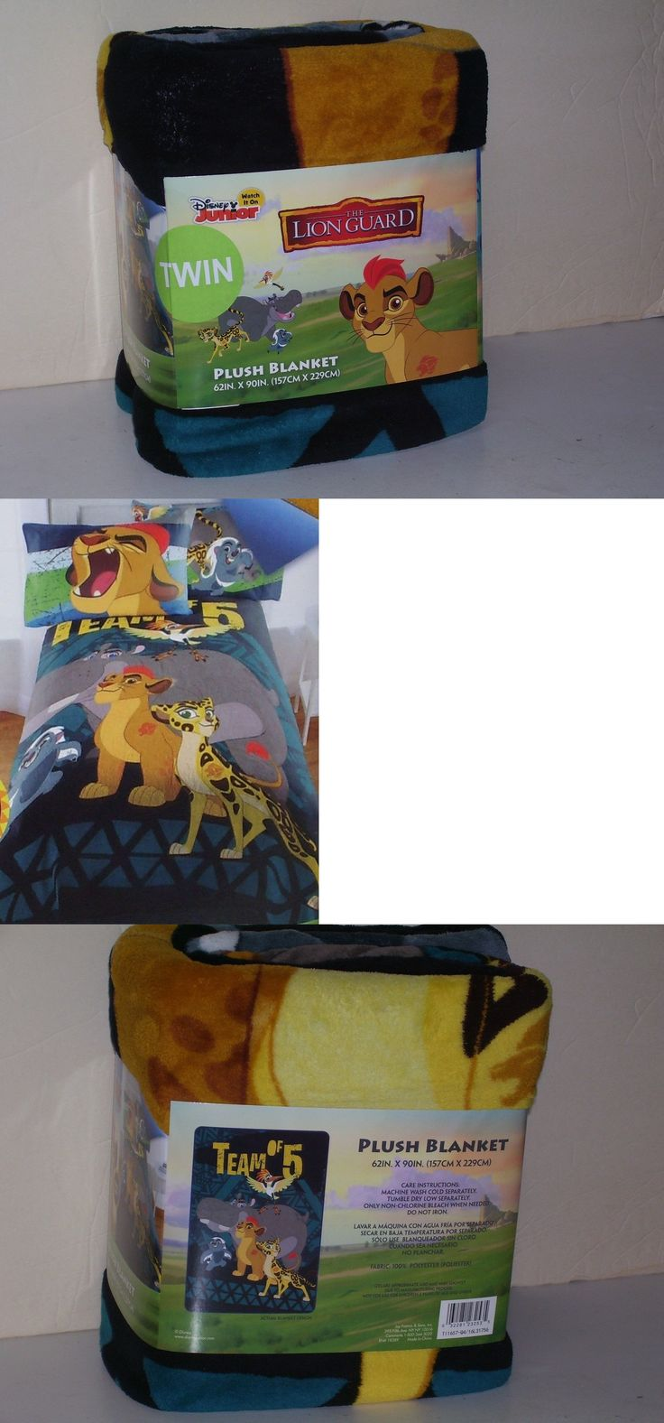 Blankets and Throws 66727: Disney Junior The Lion Guard Twin Plush Blanket  62 X 90