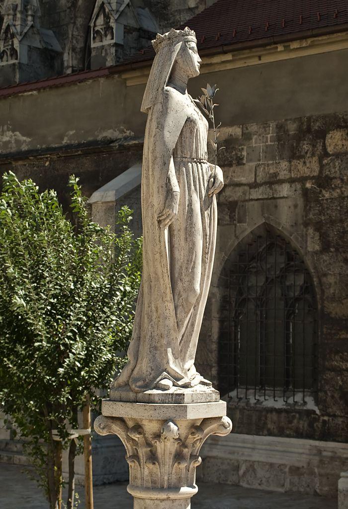 """""""Szent Kinga"""" szobor Budapest, Hungary"""