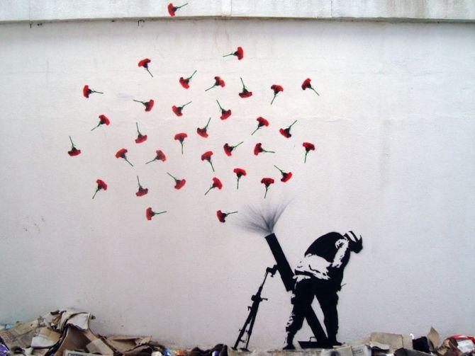 #graffiti #art. La contundencia de la imagen.