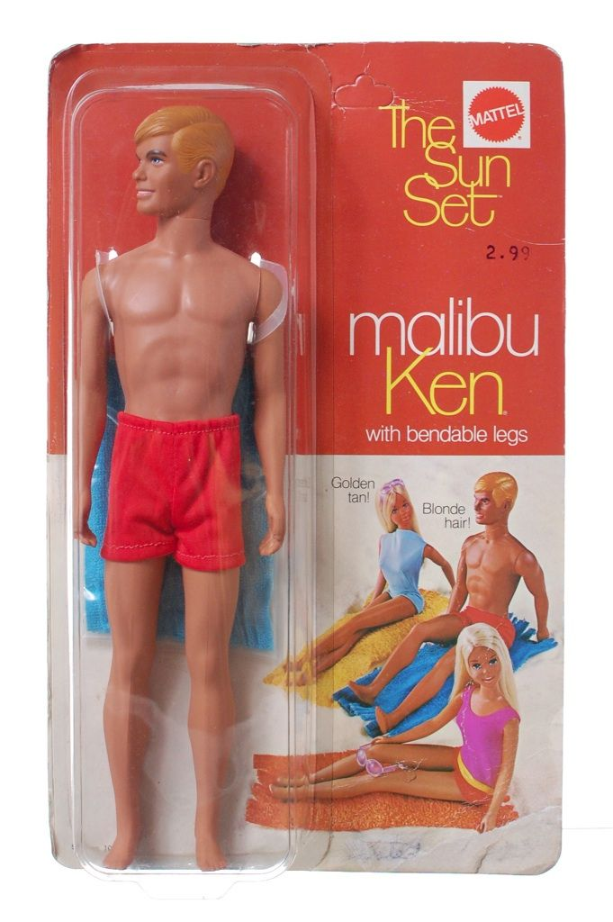 "Malibu Ken I had all the ""Malibu"" Barbie dolls. Malibu Barbie, Malibu Ken, and Malibu PJ"