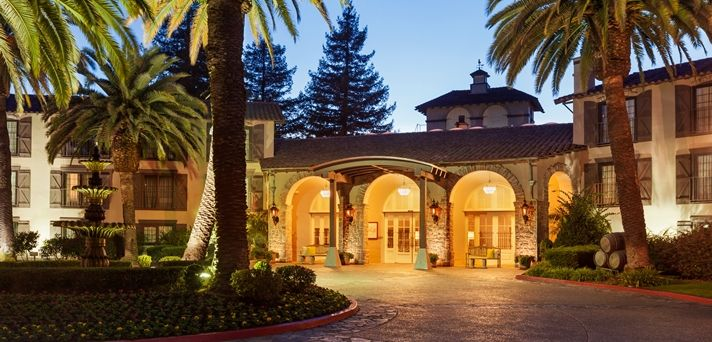 Embassy Suites Napa Valley Hotel, CA - Evening Exterior
