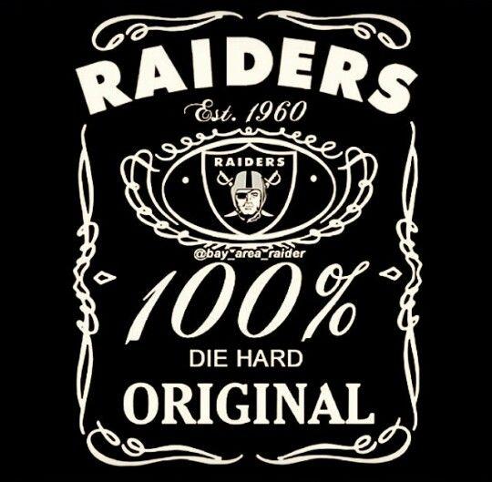 Raiders 100% for life!